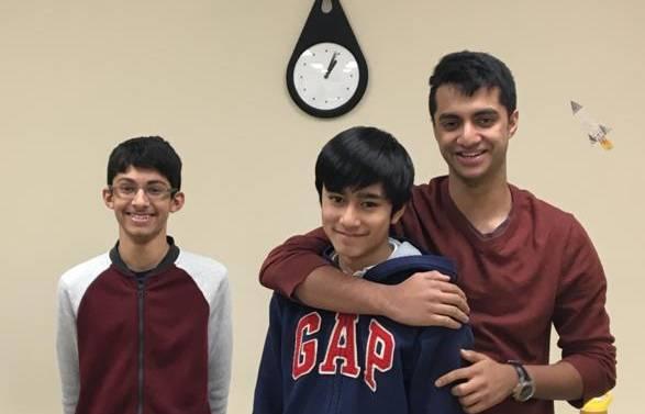 Rajath, Javin & Nikhil